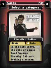 Top Trumps 007 Best of Bond